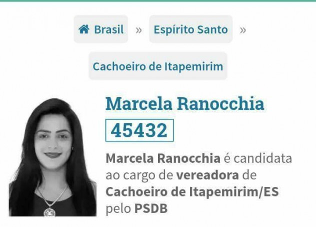 Candidata a vereadora do PSDB flagrada saqueando no ES
